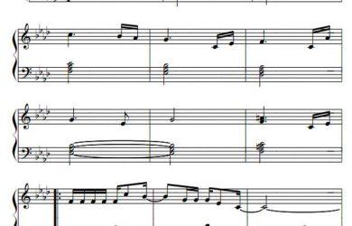 piano-sheet-ban-nhac-phia-sau-mot-co-gai