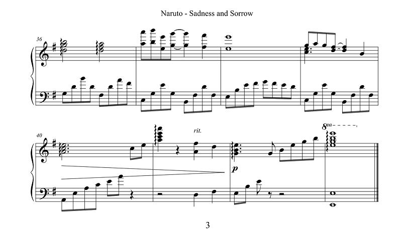 piano-sheet-sadness-and-sorrow-naruto-3