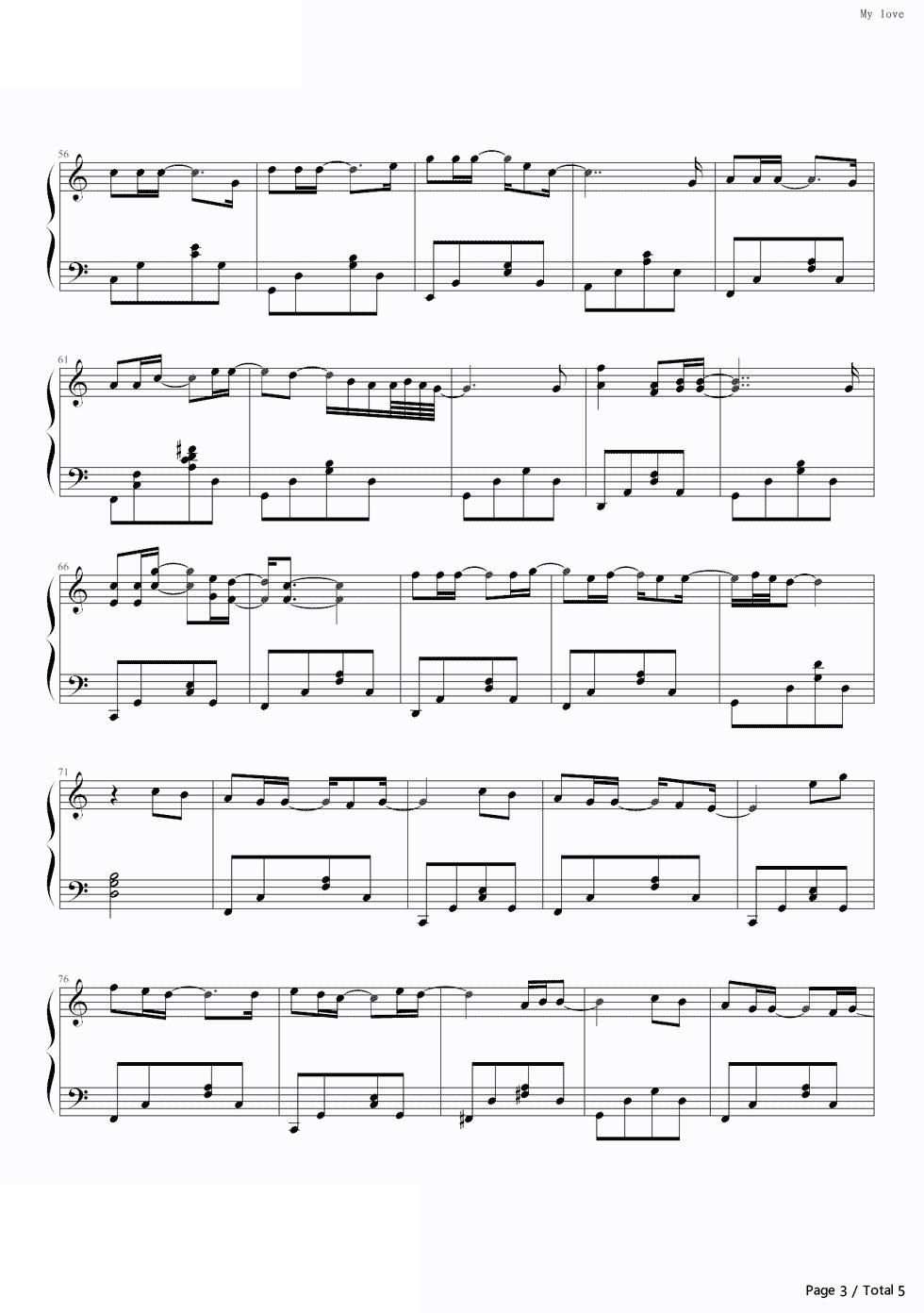 piano-sheet-may-love-westlife-3