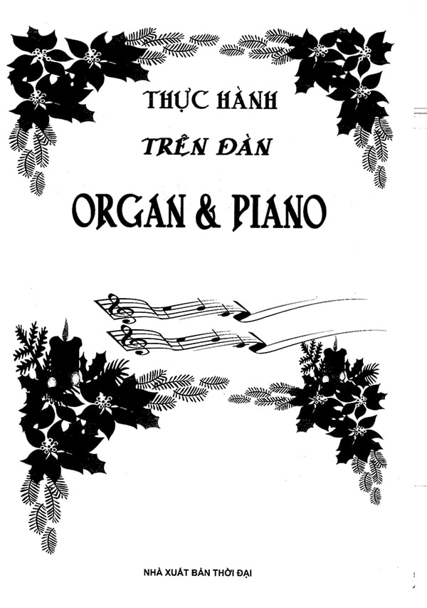 Ebook giáo trình tự học đàn organ keyboard & piano cho người mới