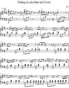 Piano sheet Chúng ta của hiện tại | Sơn Tùng MTP